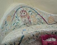 Garden Seat Mosaic