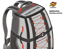 ZAP Paintball Gear Bag