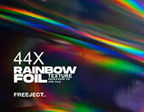 Free DEMO Rainbow Foil Texture Collection