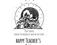 Teacher's day Poster