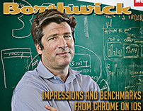 Social Media Magazine Cover Concept