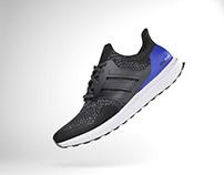 3D Sneaker Adidas Ultraboost OG