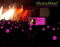 Music Meet - Live concerts board