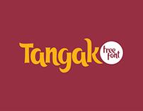 Tangak free font (cyrillic)