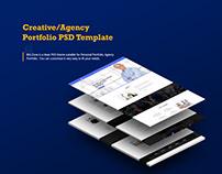 Big Zone- creative/Agency Portfolio PSD Template