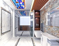 AL - HARAMAIN | BATHROOM INTERIOR