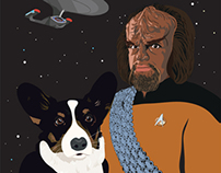 Fredrick, Son of Ben with Worf, Son of Mogh