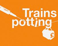 Poster para la película de Trainspotting