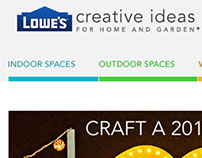 Previous Lowe's Work