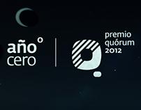 Premio Quórum 2012 - Año Cero : Video Wipers