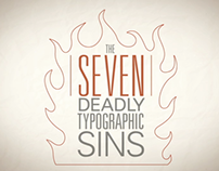 The Seven Deadly Typographic Sins