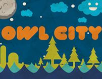 Owl City Poster Series