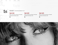 Taylor Swift reputation Countdown Banners