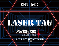 Event Poster (Laser Tag)