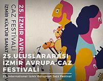 25. Uluslararası İzmir Avrupa Caz Festivali