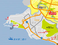 Danhai New Town Cycling Path Guide