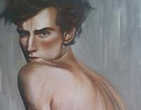 Egon Schiele - Portrait