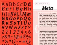 Type sample book: Erik Spiekermann