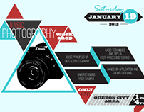 Poster: Photography Workshop