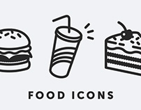 Food Icons / Fast Food / Personal Project