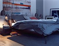 "Bedroom ""Aquamarine"""