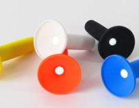 La lampe torch inspirée du BMX par Alexander Taylor