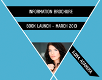 Information brochure - book launch