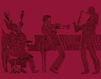 Folleto para el Ciclo de Jazz de la Fundación Barrié