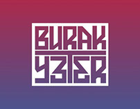 BURAK YETER LOGO TYPE AND WEB DESIGN