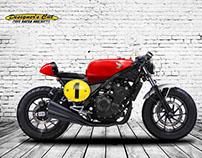 HONDA CMX500 SIXTIES RACER