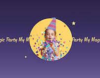 Magic Party | E-shop redesign