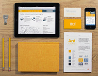 Ard arealplan - Graphic identity