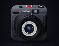 Smena-35 film camera App Icon