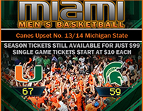 Flash Banner Ads University of Miami