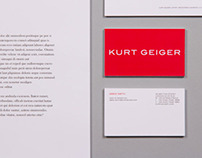 Kurt Geiger Corporate Stationary