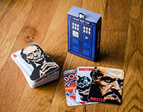 """Dr. Who"" Playing Cards"