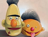 Bert & Modderfokking Ernie