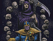Thanos and The Death.