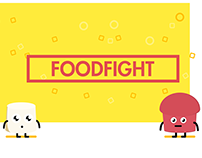 FOODFIGHT character set