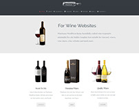 Winehouse WordPress Theme - Front-Page Effects