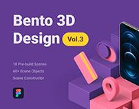 Bento 3D Design Vol.3