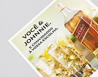 JOHNNIE WALKER - MENU RESTAURANTE