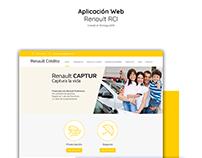 Aplicación Web - RCI Renault