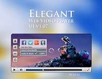 Evegant Web Video Player UI v1.07