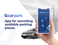 Carpark - app for searching available parking places
