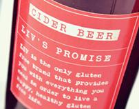LIV Foods Branding