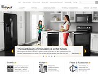 Whirlpool Website Redesign