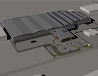 Proposed Warehouse Renders
