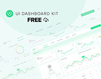 Medical Doctor's Dashboard - UIUX KIT Free [XD]