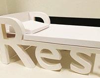 3D Typographic Object
